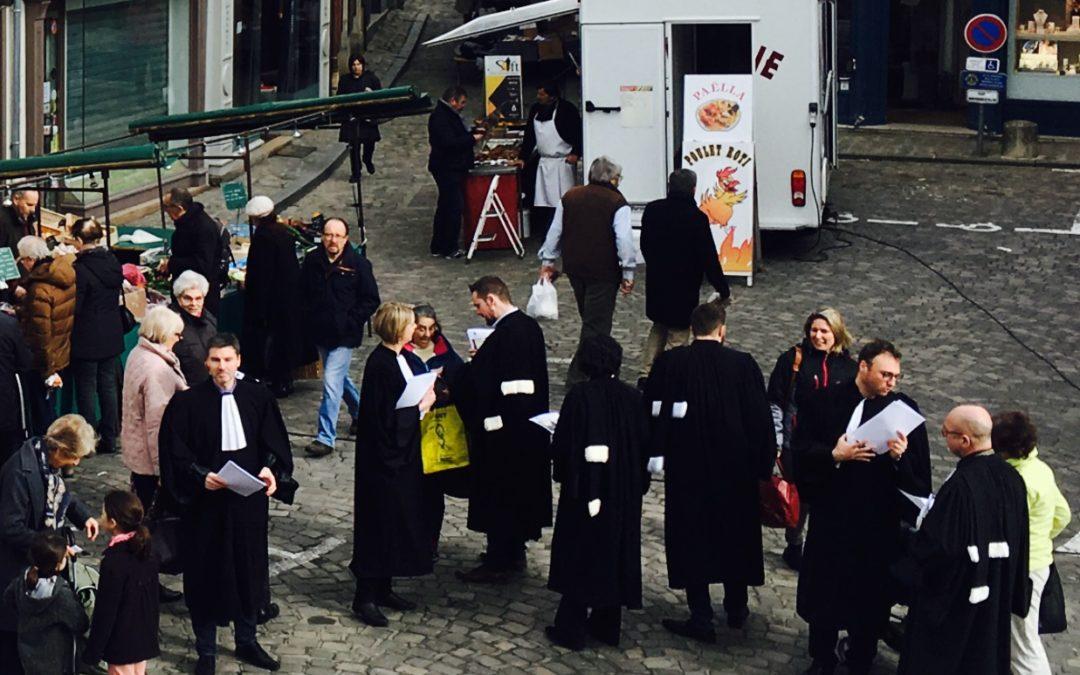 Les avocats de Senlis restent mobilisés contre les cinq chantiers de la justice